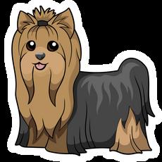 Yorkshire Terrier Dog Sticker