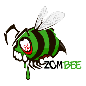 ZomBee Sticker