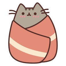 Pusheen Bacon Sticker