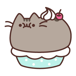 Pusheen Pie Sticker