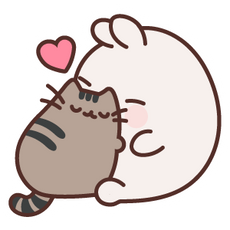 Pusheen with Molang