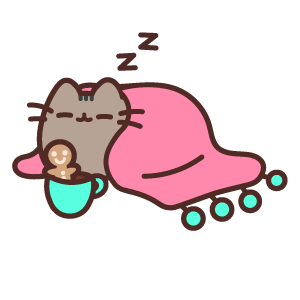 Sleepy Pusheen