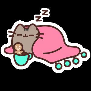 Sleepy Pusheen