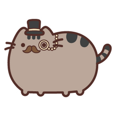 Pusheen Gentleman Cat