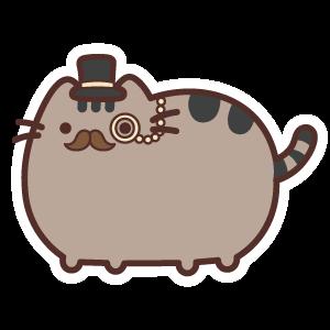 Pusheen Gentleman Cat