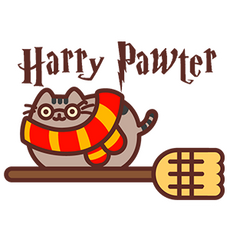 Pusheen Harry Pawter