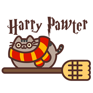 Pusheen Harry Pawter
