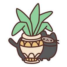 Ninja Pusheen Sticker