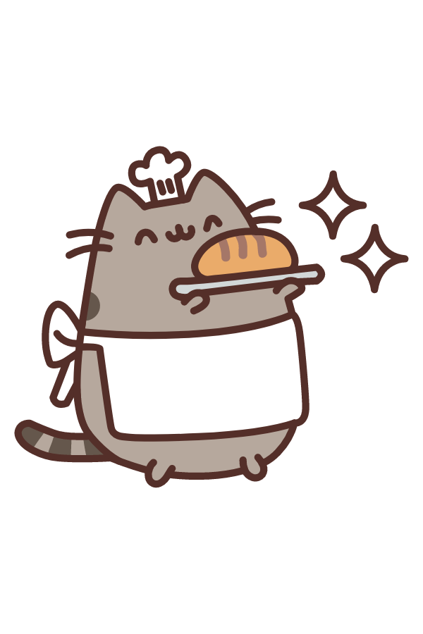 Baker Pusheen Sticker