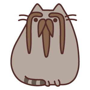 The Eyebrows Pusheen