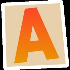 Ransom Alphabet Letter A