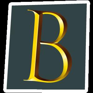 Ransom Alphabet Letter B