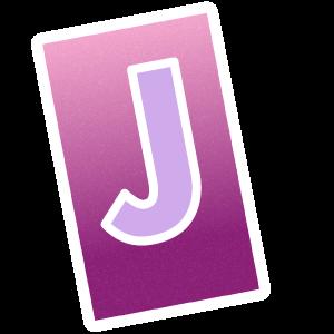 Ransom Alphabet Letter J