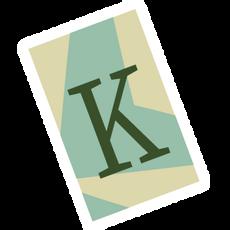 Ransom Alphabet Letter K