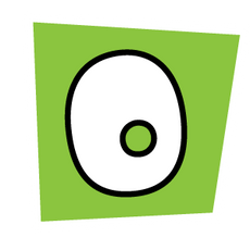Ransom Alphabet Letter O
