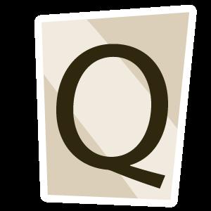 Ransom Alphabet Letter Q