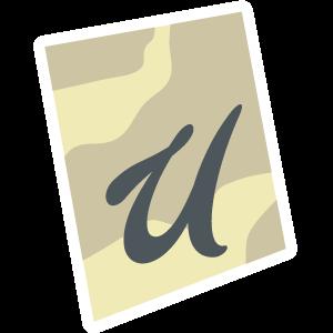 Ransom Alphabet Letter U