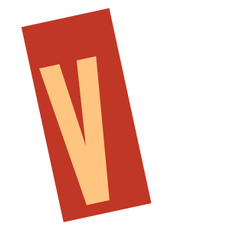 Ransom Alphabet Letter V