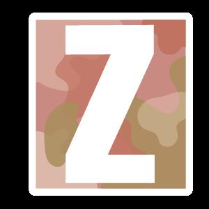 Ransom Alphabet Letter Z