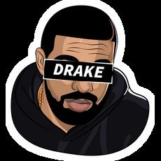 Drake Pathos Sticker