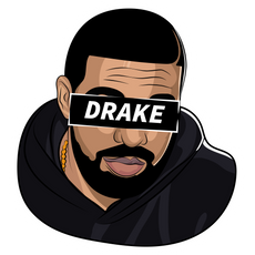 Drake Pathos Sticker