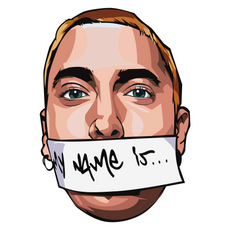 Eminem My Name Is... Sticker