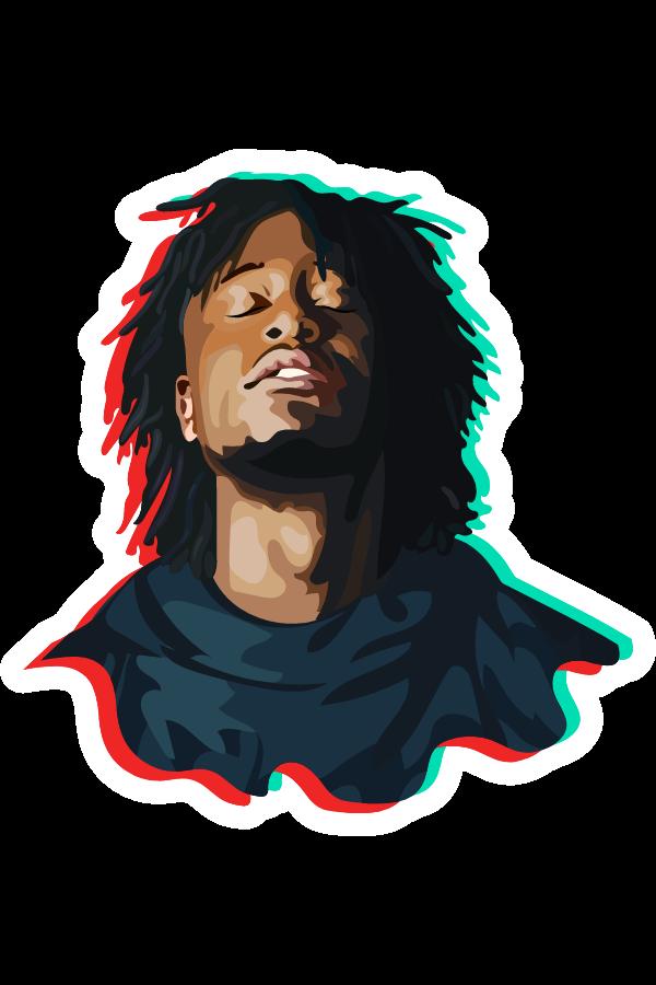 KB Rapper Sticker