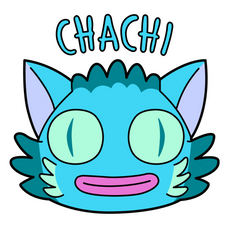 Rick and Morty Chachi Sticker