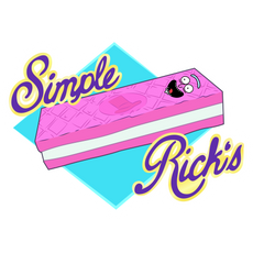 Rick and Morty Simple Rick's Wafer Sticker