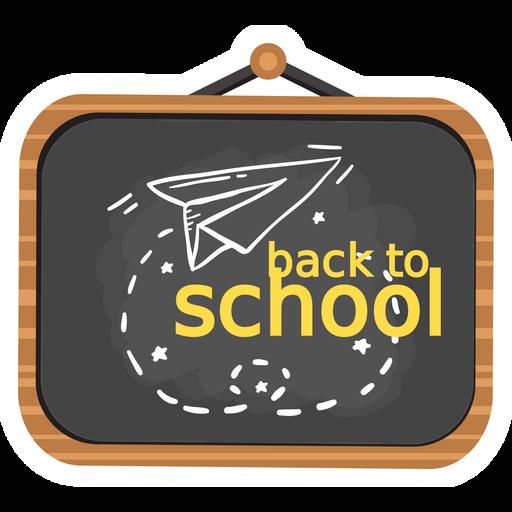 Back to School Black Board Sticker