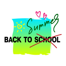 Back to School - Summer Sticker