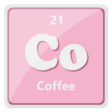 Co The Element of Coffee Sticker