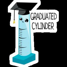 Graduated Cylinder Sticker
