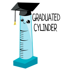 Graduated Cylinder Sticker