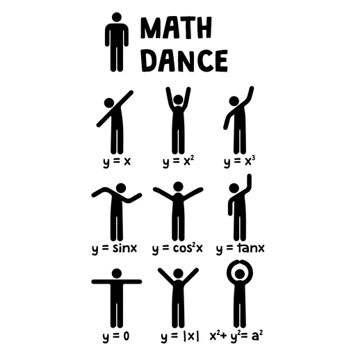 Math Dance Sticker