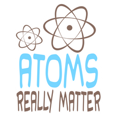 Atoms Really Matter Sticker