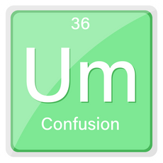 Um The Element of Confusion Sticker