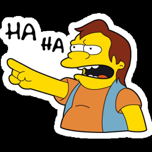 The Simpsons Nelson Ha Ha