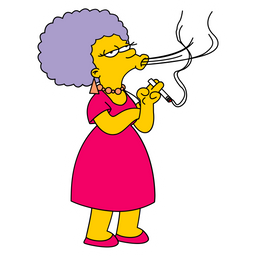 The Simpsons Patty Sticker