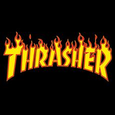 Thrasher Flame Logo Sticker
