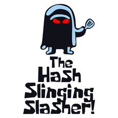 SpongeBob Hash-Slinging Slasher Sticker