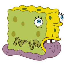 SpongeBob SnailPants Sticker