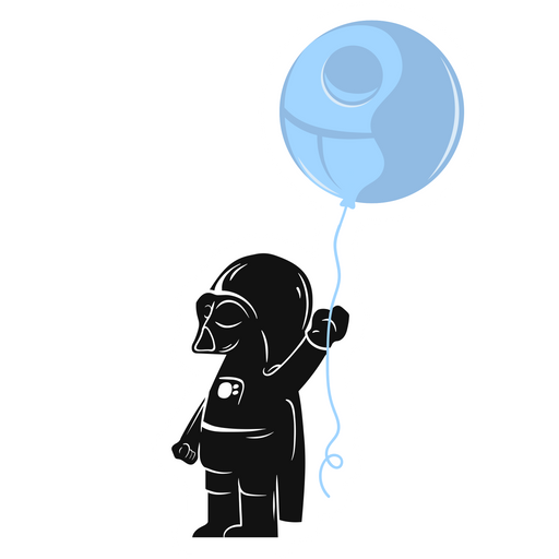 Star Wars Darth Vader Kid Sticker