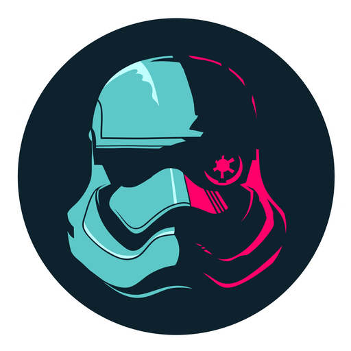 Star Wars The Force Awakens Stormtrooper Sticker