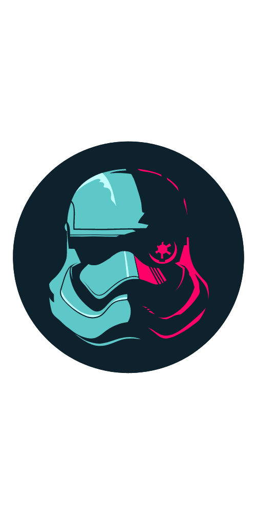 Star Wars The Force Awakens Stormtrooper Sticker