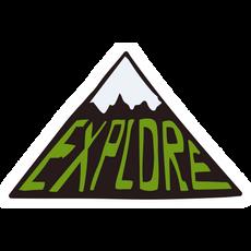 Explore Mountain Sticker