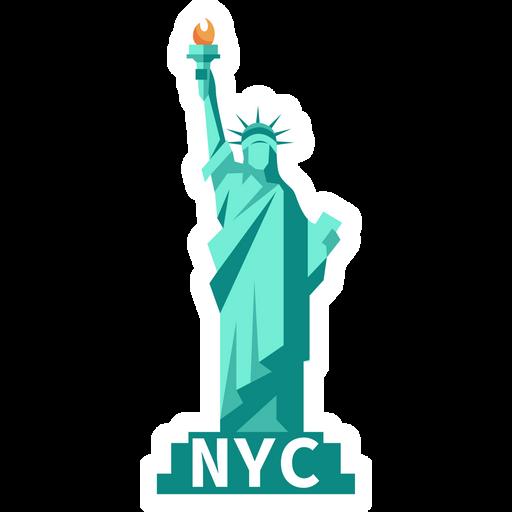 Statue Of Liberty NYC Sticker