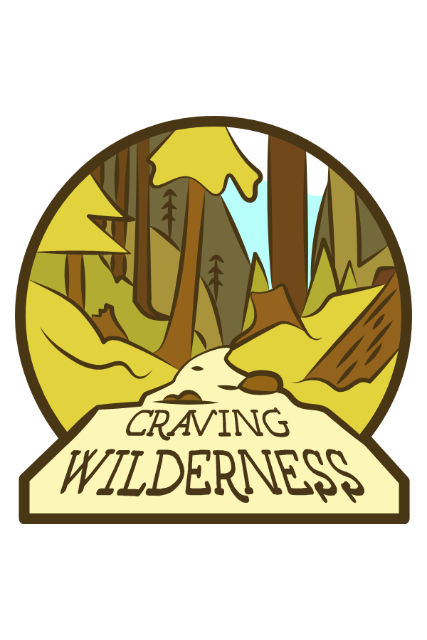 Craving Wilderness Sticker