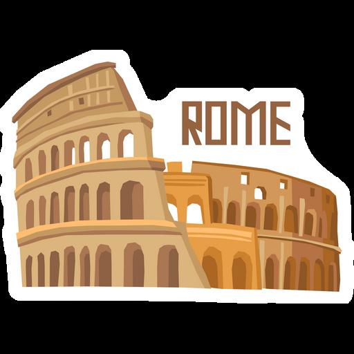Travel Colosseum Rome Sticker