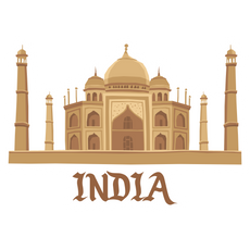 Taj Mahal India Sticker